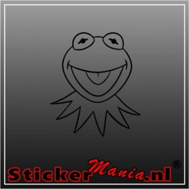 Kermit sticker