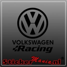 Volkswagen racing 2 sticker