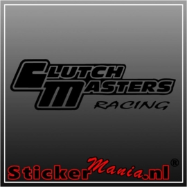 Clutch masters sticker