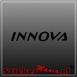 Toyota innova sticker