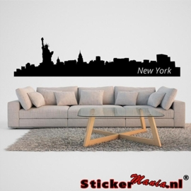 Skyline new york muursticker