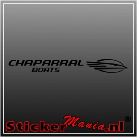 Chaparral boats sticker