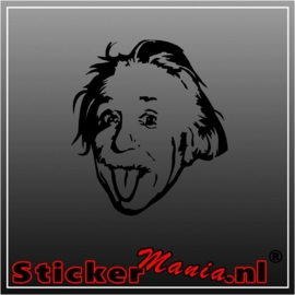 Einstein 1 sticker