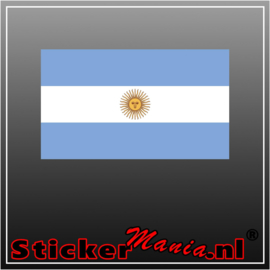 Argentinie Full Colour sticker