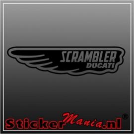 Ducati scrambler sticker
