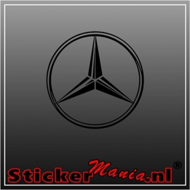 Mercedes ster 1 sticker