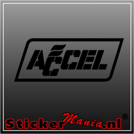 Accel sticker