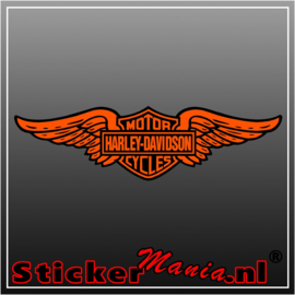 Harley davidson 1 Full Colour sticker
