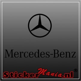 Mercedes benz 3 sticker