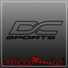 DC sports sticker