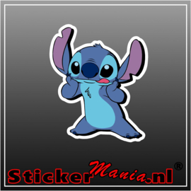 Stitch 1 full colour sticker