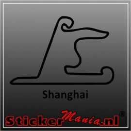 Shanghai circuit sticker