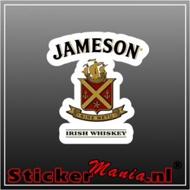 Jameson whiskey Full Colour sticker