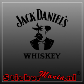 Jack Daniels whiskey sticker
