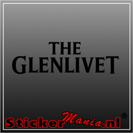 The glenlivet sticker