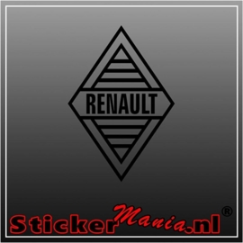 Renault 3 sticker