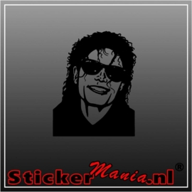 Micheal jackson 1 sticker