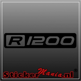 BMW R1200 1 sticker