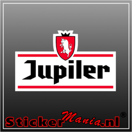 Jupiler full colour sticker