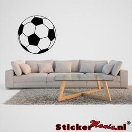 Muursticker voetbal 2