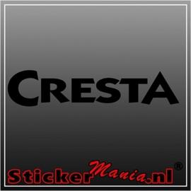 Cresta sticker