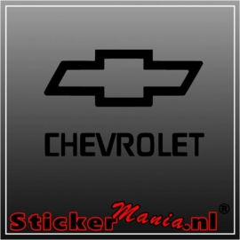 Chevrolet sticker