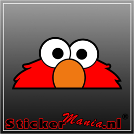 Elmo Full Colour sticker