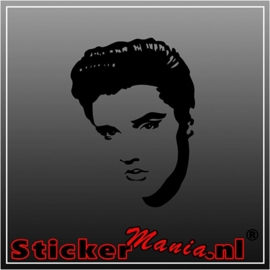Elvis presley 5 sticker