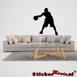Muursticker basketbal 1