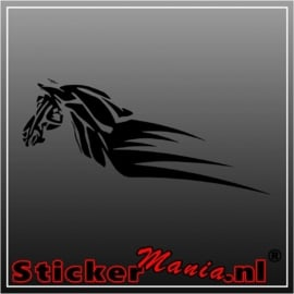 Tribal paard 4 sticker