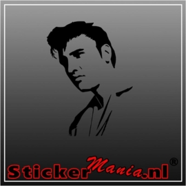 Elvin presley 1 sticker