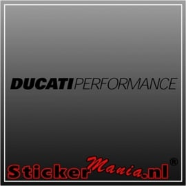 Ducati performance 1 sticker