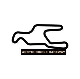 Artic circle raceway op voet