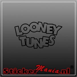 Looney tunes sticker