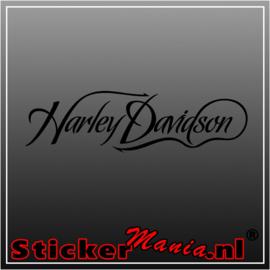 Harley davidson 6 sticker
