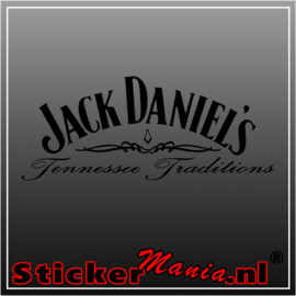 Jack daniels tennessee traditions sticker