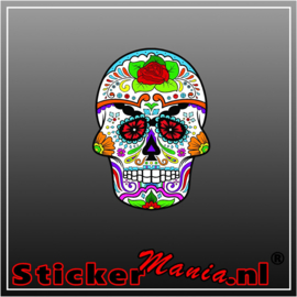 Skull 2 Full Colour sticker