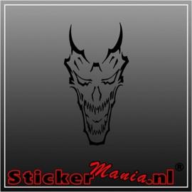 Skull 41 sticker