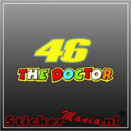 The docter 2 Full Colour sticker
