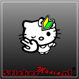 Hello Kitty JDM Full Colour sticker