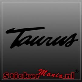 Ford taurus sticker