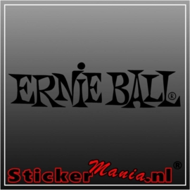 Ernie ball sticker