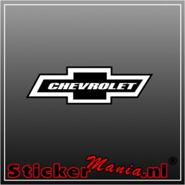 Chevrolet Logo Full Colour sticker