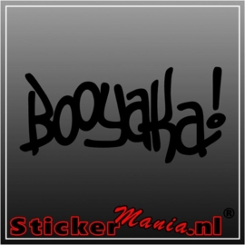 Booyaka sticker