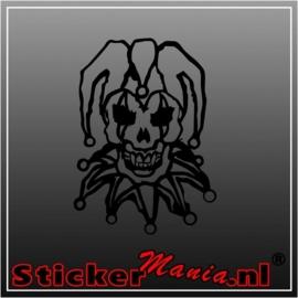 Skull 21 sticker