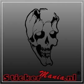 Skull 55 sticker