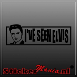 I've seen Elvis presley sticker
