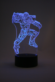 Iron man led lamp