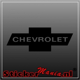 Chevrolet 3 sticker