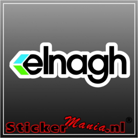 Elnagh full colour sticker